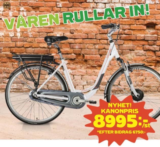 Coop viva elcykel