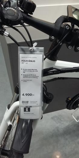Ikea elcykel 2